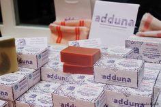 Pêle-mêle savons de beauté Adduna - Eté des Entrepreneuses - photo par Nadia Bijarch