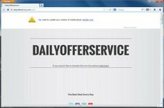 Entfernen DailyOfferService pop-up ads
