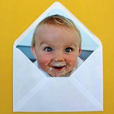 enveloppe invitation, carte anniversaire enfant, carte surprise, mail art, courrier décoré,