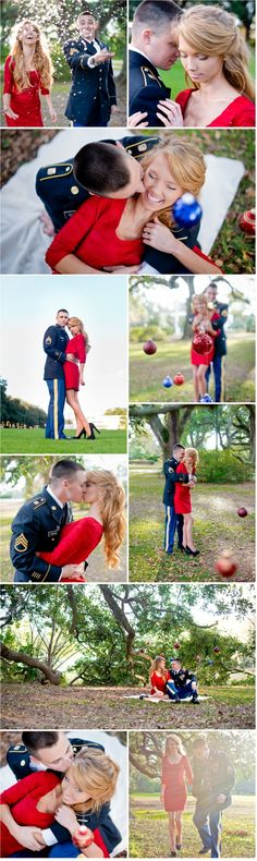 Military Engagement Photos Christmas Kathleen Clipper Photography2
