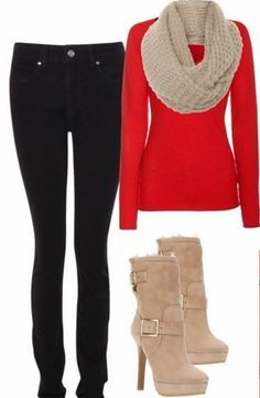 cute holiday outfit christmas fashion cute christmas outfits cute winter outfits casual outfits - Christmas Party Attire