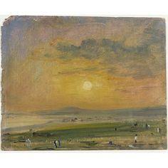 Coast Scene at Brighton: Evening - John Constable