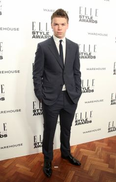 Will Poulter at the ELLE Style Awards 2014