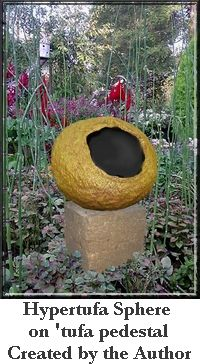 Learn How to Create Beautiful  Hypertufa Garden Art Objects  Each & Every Time