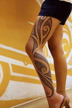 40 Tribal Tattoo vorlagen für Männer und Frauen | http://www.berlinroots.com/tribal-tattoo-vorlagen-fur-manner-und-frauen/