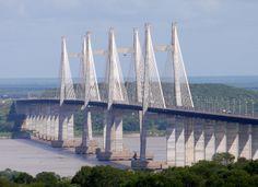 Puente Orinoquia 3.156mts Largo, Estado Bolivar, foto Jesus Roldan , une a los estado anzoategui , y monagas...!