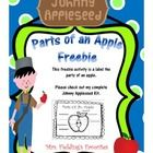 This freebie is a small part of my Johnny Appleseed Mini-Unit. Check it out.  Please check out my complete Johnny Applseed kit at: Johnny Appleseed...