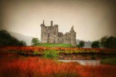 Scotland's Kilchurn Castle!