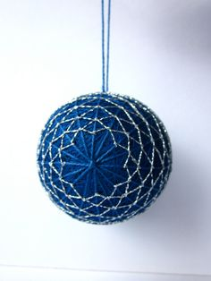 Japanese Temari I can't wait to learn how to do this!