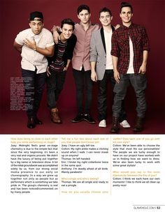 Glamoholic.com | Exclusive Interview With Midnight Red: America's New Boy Band!