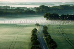 Ranní mlhy na jihu Moravy