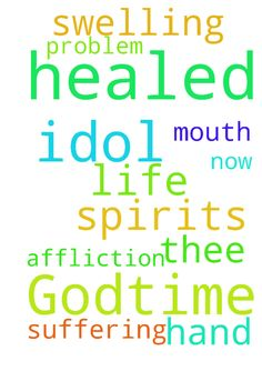 From Godtime I pray again every idol - From Godtime I pray again every idol spirits in my life in Jesus name AMEN I have been suffering for mouth swelling problem I need the hand of God that healed thee to healed me now from that affliction in Jesus name AMEN Posted at: https://prayerrequest.com/t/Eqb #pray #prayer #request #prayerrequest