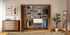 Our closet systems create highly organized and well-designed storage in every room of your home, from the kitchen to the attic, to the garage or mudroom. Learn more about the custom closet systems we design at California Closets. Linen Closet Organization, Budget Organization, Closet Storage, Organization Ideas, Storage Ideas, Clever Closet, Reach In Closet, Closet Redo, California Closets