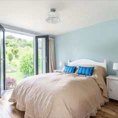 Juliet balconies are a brilliant loft conversion tip for adding lots of light to a new attic conversion, such as this one in Croydon, London built by Simply Loft. Loft Conversion Tips, Croydon London, Juliet Balcony, Semi Detached, Balconies, Bed, Building, Furniture, Home Decor