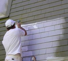 June Home Maintenance Tip - After pressure washing your home and other buildings, June is also th.