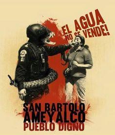LA VOZ DEL ANÁHUAC-SEXTA X LA LIBRE: San Bartolo Ameyalco: La lucha por el agua en la C...