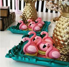 Créditos: @janettikuhn Ideias Criativas para Festa Flamingo