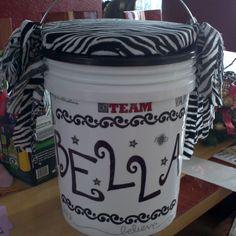 Olivia needs a cheer bucket Cheer Bucket
