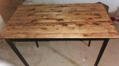 Dining Table, Rustic, Furniture, Home Decor, Homemade Home Decor, Diner Table, Dinning Table Set, Retro, Home Furnishings