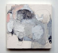 Wata'ame (2011) Oil on canvas, pigment, charcoal, graphite 180x180mm | Flickr - Photo Sharing!