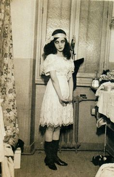 "French actress, film director and writer Jeanne Roques aka ""Musidora"" (1889-1957)"