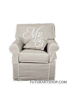 Poltrona signore Mr. chair, lnen Maison, Armchair, Shabby Chic, Chair, Riviera Maison, Interior, Home Accessories, Furniture, Shabby Chic Furniture