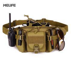 MELIFE New molle Hip Packs Tactical Waist Pack Waterproof Waist Bag Fanny Pack BELT Bag Outdoor Sports Bags Military Equipment