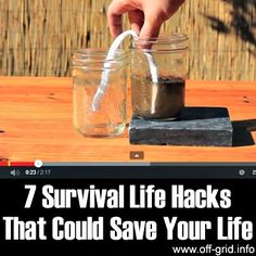 7 Survival Life Hacks That Could Save Your Life http://diyhomesweethome.com/7-survival-life-hacks-that-could-save-your-life/