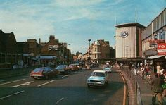 Ilford – Store 1241 – Woolies Buildings – Then and Now Old London, East London, 1960s Britain, Cycling In London, Ghost Walk, Leigh On Sea, London History, London Street, Big Ben