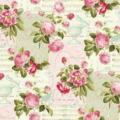 Roses Hopelessly Romantic Floral #10-71  Northcott Quilt Fabric by the 1/2 yd  #Northcott
