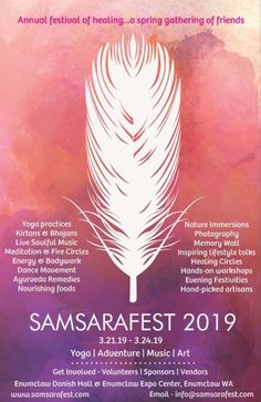 A spring healing festival - yoga, music, adventure, sound cleansing, ayurveda, nature and more... Yoga Festival, Art Festival, Memory Wall, Yoga Music, Alternative Therapies, Ayurveda, Meditation, Remedies, Healing