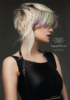 Goldwell Color Zoom 2015 Category: CREATIVE COLORIST Semi-finalist | Poland. Hair: Krzysztof Klimczak