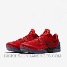 promo code 60765 db796 Discount Nike Kobe Venomenon 5 For Cheap Red Black Free Shipping A64GP