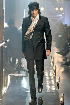 John Galliano Fall 2011 Menswear Fashion Show Collection
