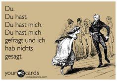 Rammstein Du Hast lyrics funny your ecards meme