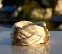 DIY Urban Rustic Turk's Head Knot Bracelet