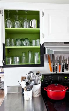 Paint Your Cabinets via allwomenstalk.com