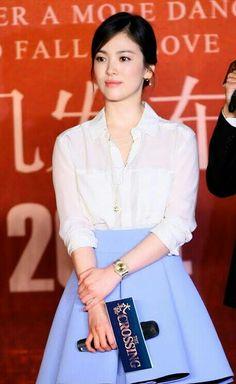 love her simple style Korean Beauty, Asian Beauty, Song Hye Kyo Style, Korean Celebrities, Celebs, Pretty Songs, Songsong Couple, Yoo Ah In, Korean Actresses