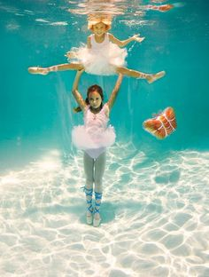 dancing underwater, used to do this all the time!