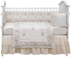 Love Classic White baby bedding