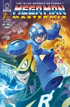 Udon's Hitoshi Ariga Mega Man Reprints Will Be An 80-Page Quarterly Series, In Color