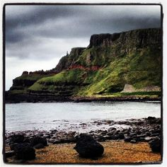 Giants Causeway near Belfast, Ireland