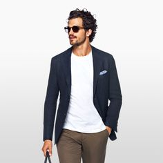 suitsupply: Go effortless with The Havana Navy Plain http://suitsupp.ly/2mHkJg7