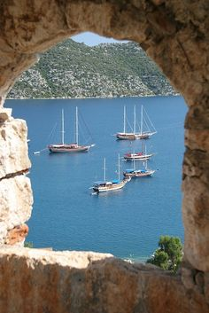 Kas, Turkey........one of the many stops we made while sailing along the Blue Voyage.  Wonderful memories!