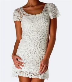 FIFIA crochet blog crochet: crochet dress with diagram
