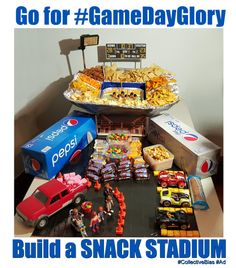 Go for #GameDayGlory Snack Stadium #CollectiveBias #Ad Go for #GameDayGlory by constructing an epic Snack Stadium and filling it with incredible snacks. #CollectiveBias #Ad
