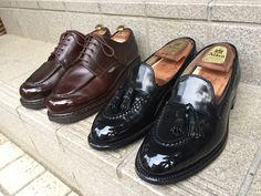 Paraboot Chambord  Alden Cordovan Tasseled Loafers  Shoeshine