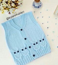 Pecho espalda Knitting Paterns, Baby Knitting, Cross Stitch Baby, Chain Stitch, Crochet Yarn, Crochet Projects, Kids Fashion, Pattern, Sweaters