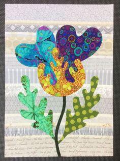 Flower Garden, Kim McLean - Block 2 (Laila Nelson)