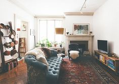A beautiful relaxed bohemian Artists home in Baltimore | From Moon to Moon | Bloglovin'